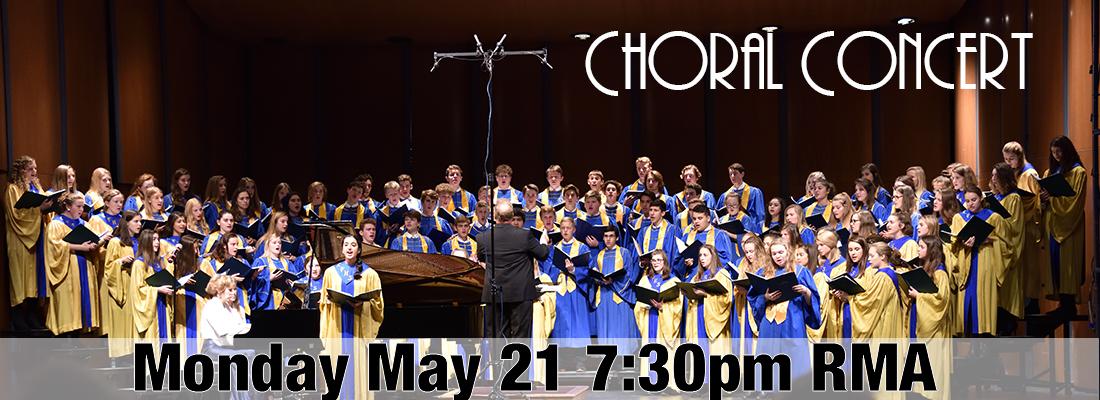 Choral Spring Concert 18