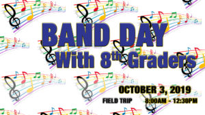 Band Day with 8th Graders