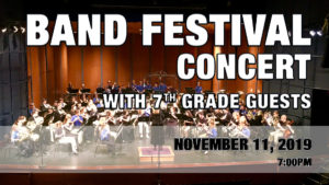 Band Festival Concert with 7th Grade Guests