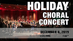 Holiday Choral Concert (after Applause Spaghetti Dinner)