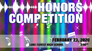 Honors Competition 2020