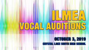 ILMEA Vocal Auditions 2019