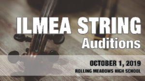 ILMEA String Auditions 2019