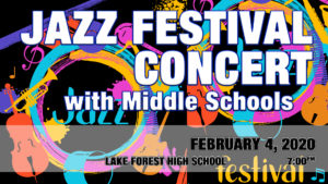 Jazz Festival Concert with Middle Schools