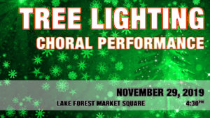 Tree Lighting and Choral Performance at Market Square